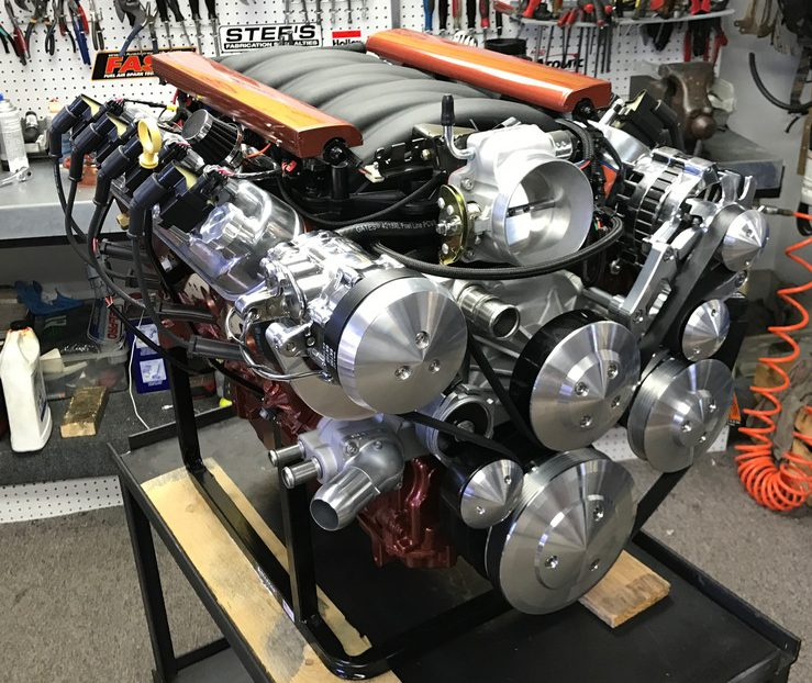 Ls E on Edelbrock Ls3 Crate Engine Supercharged